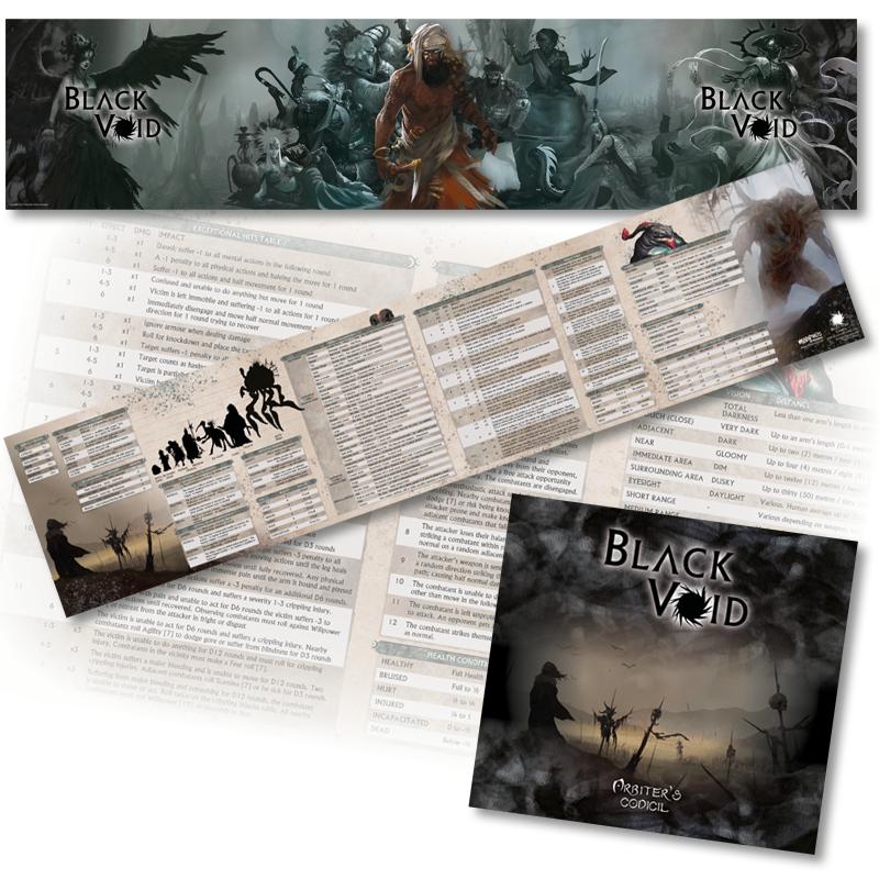 Black Void RPG: Arbiter's Screen
