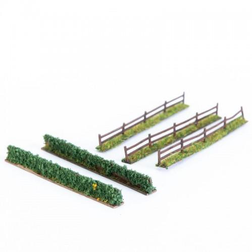 10mm Scenery: Fencing & Hedge