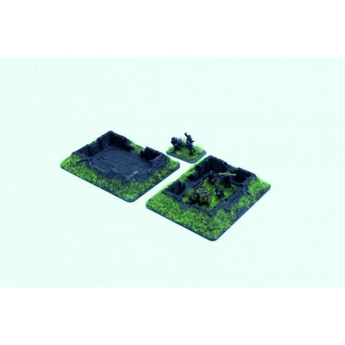 15mm Scenery: 15mm Small Gun Fighting Positions