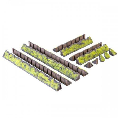15mm Scenery: 15mm Trench Walls