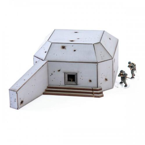 28mm Scenery: Anti-Tank Bunker 01