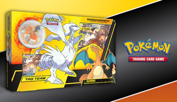 Pokemon CCG: Reshiram & Charizard-GX Figure Collection