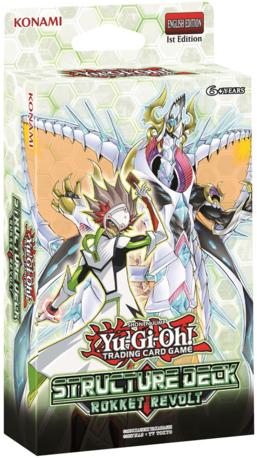 Yu-Gi-Oh: Rokket Revolt Structure Deck