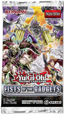 Yu-Gi-Oh: Fist of the Gadgets Booster