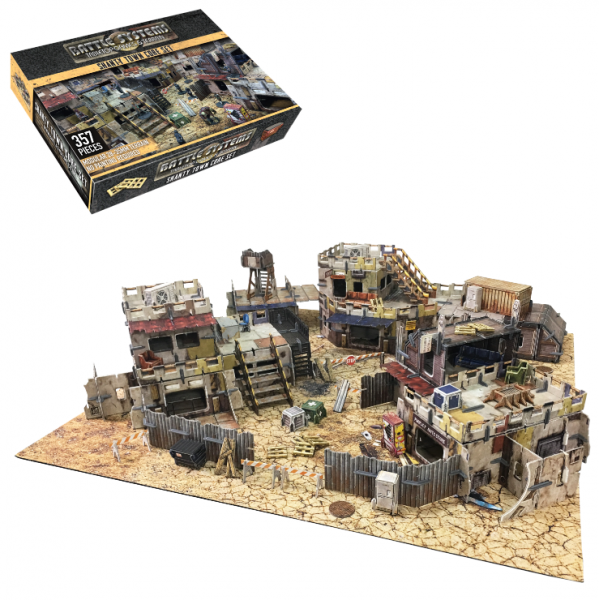 Miniature Terrain: Shanty Town Core Set