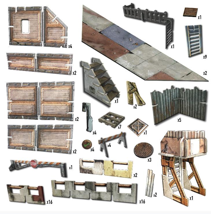 Battle Systems: Shanty Town Core Set