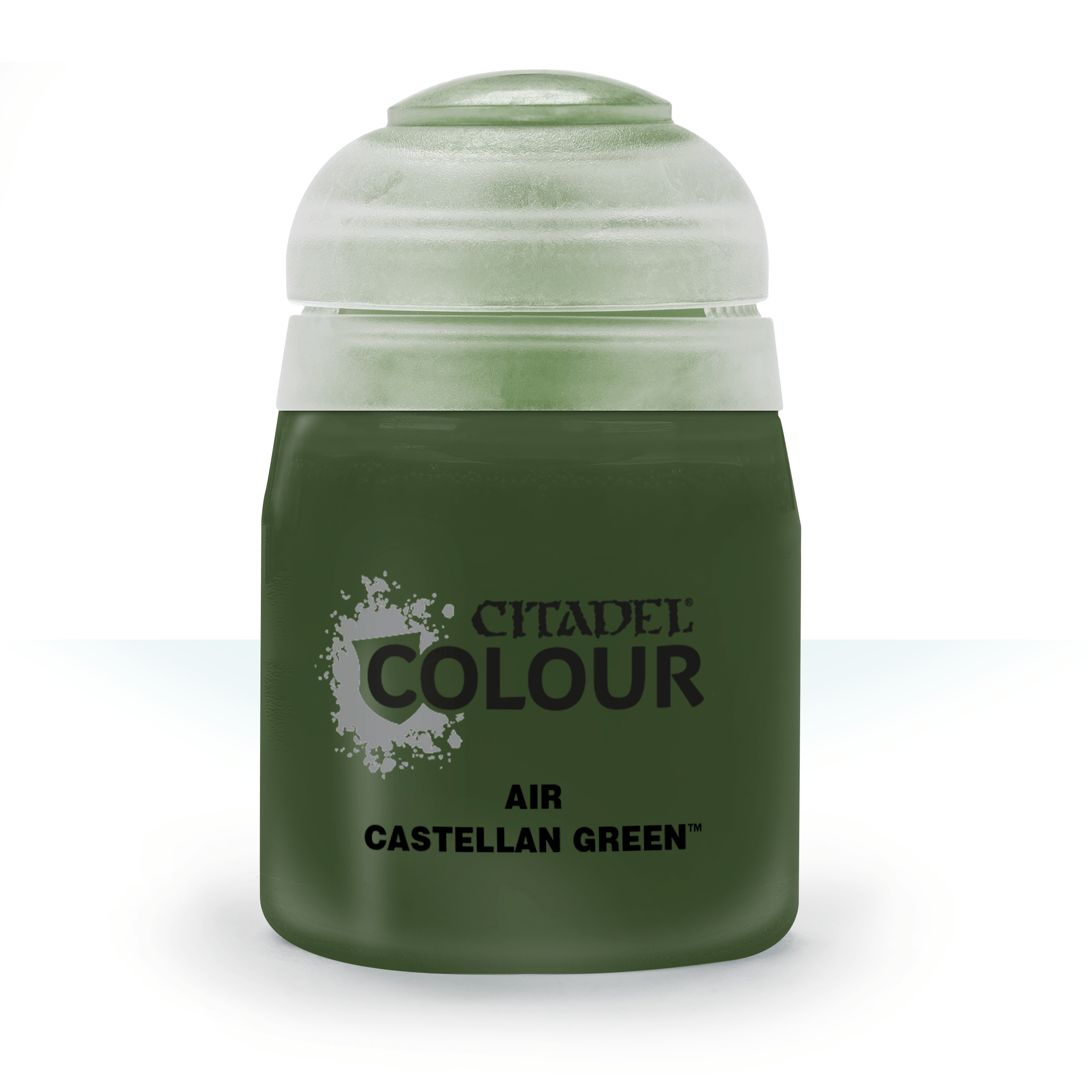 Citadel Airbrush Paints: Castellan Green Air (24ML)