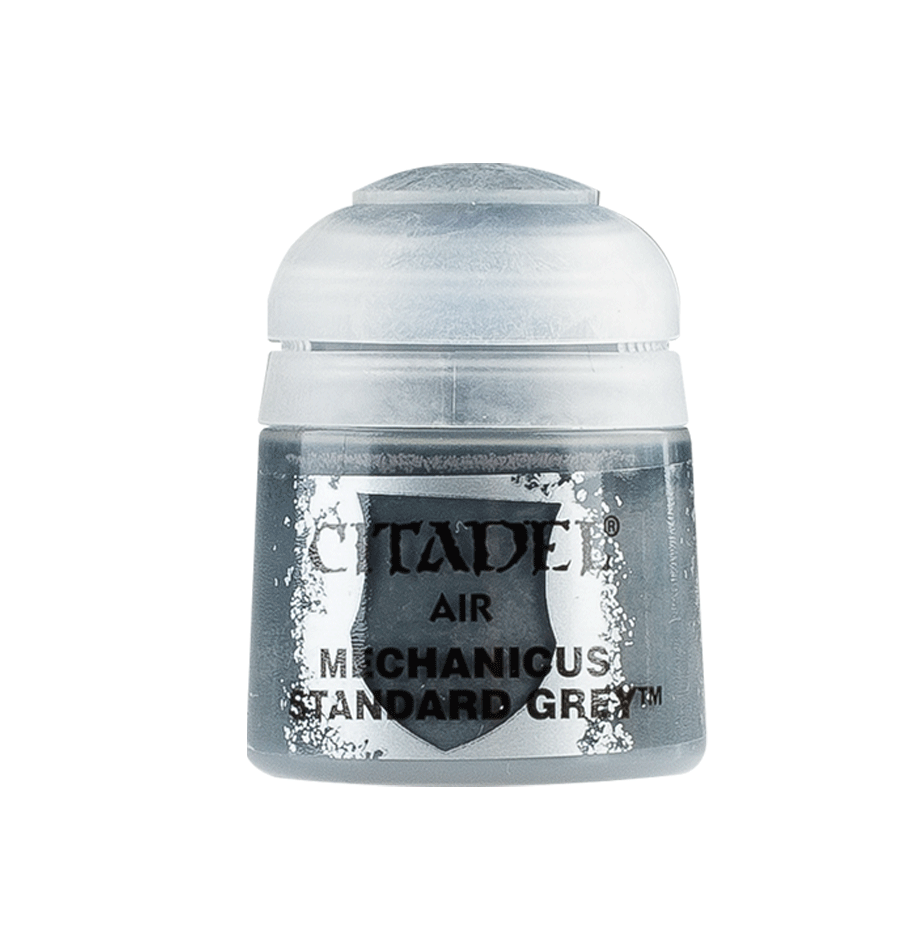 Citadel Airbrush Paints: Mechanicus Standard Grey Air (24ML)