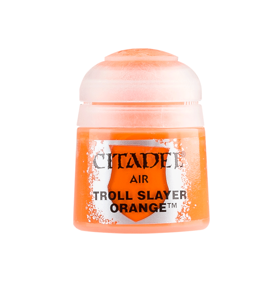 Citadel Airbrush Paints: Troll Slayer Orange Air (24ML)