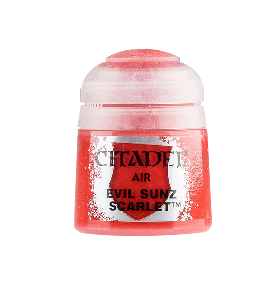 Citadel Airbrush Paints: Evil Sunz Scarlet Air (24ML)