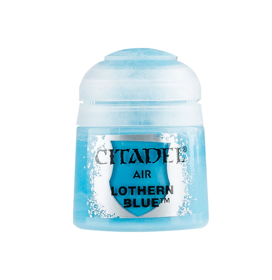 Citadel Airbrush Paints: Lothern Blue Air (24ML)