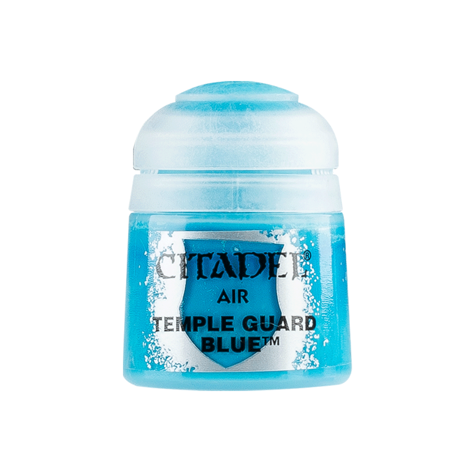 Citadel Airbrush Paints: Temple Guard Blue Air (24ML)