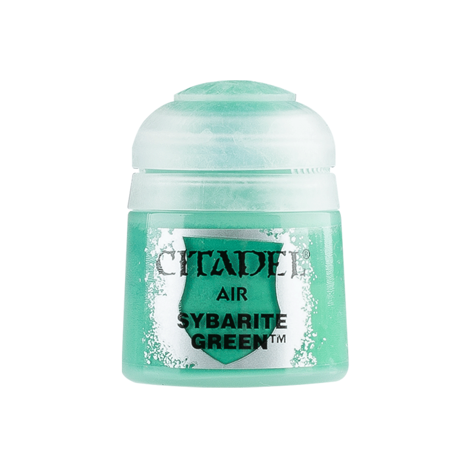 Citadel Airbrush Paints: Sybarite Green Air (24ML)