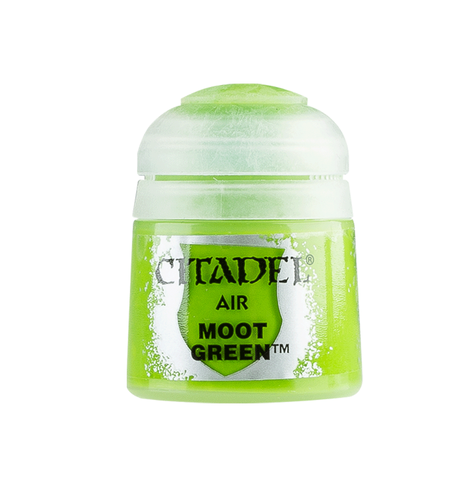 Citadel Airbrush Paints: Moot Green Air (24ML)