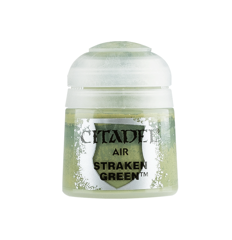 Citadel Airbrush Paints: Straken Green Air (24ML)