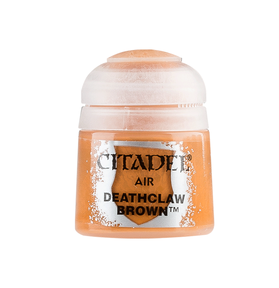 Citadel Airbrush Paints: Deathclaw Brown Air (24ML)
