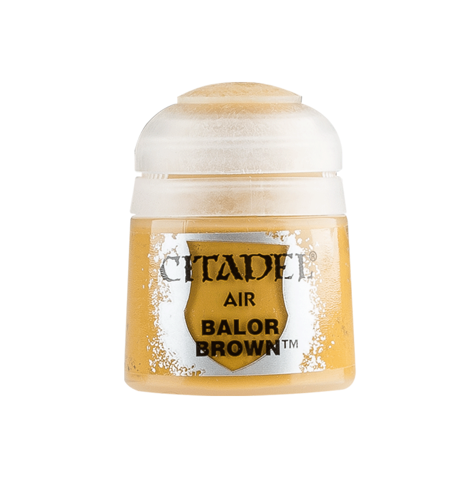 Citadel Airbrush Paints: Balor Brown Air (24ML)