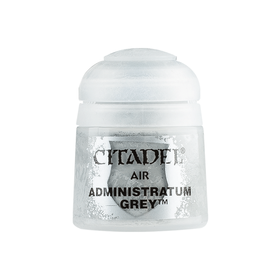 Citadel Airbrush Paints: Administratum Grey Air (24ML)