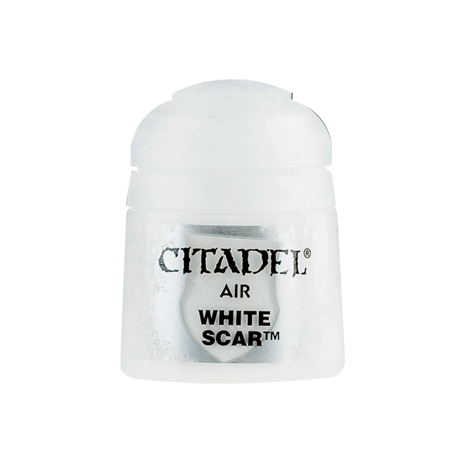 Citadel Airbrush Paints: White Scar Air (24ML)