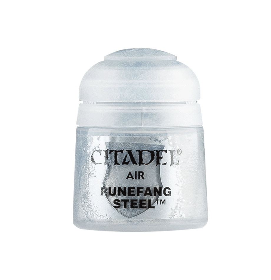 Citadel Airbrush Paints: Runefang Steel Air (24ML)