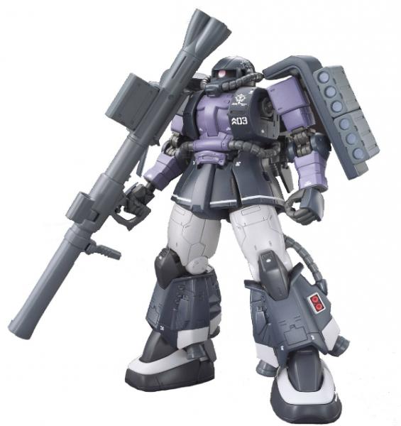 Gundam:   HG 1/144 MS-06R-1A ZAKUⅡ GAIA/MASH CUSTOM