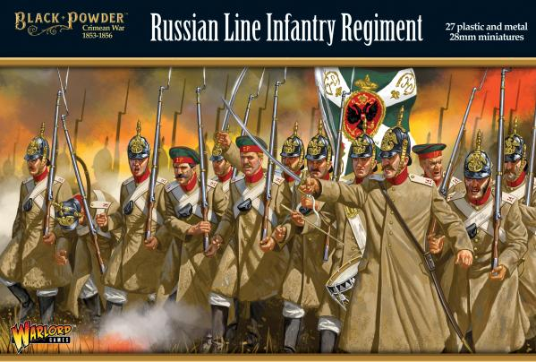 Black Powder: Crimean War - Russian Line Infantry