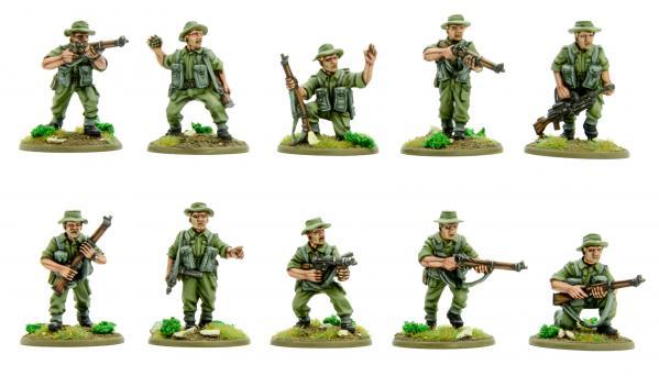 Bolt Action, 2nd Edition: Korean War - British Infantry Section (summer)