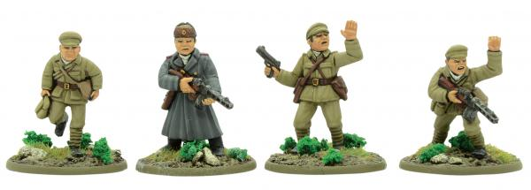 Bolt Action, 2nd Edition: Korean War - Chinese PLA Support Group