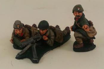 Iron Cross: Greek Mountain Infantry/Evzones HMG