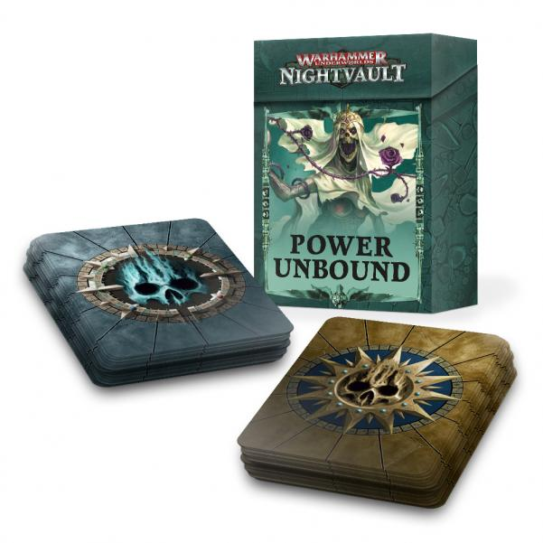 Warhammer Underworlds: Nightvault POWER UNBOUND CARDS