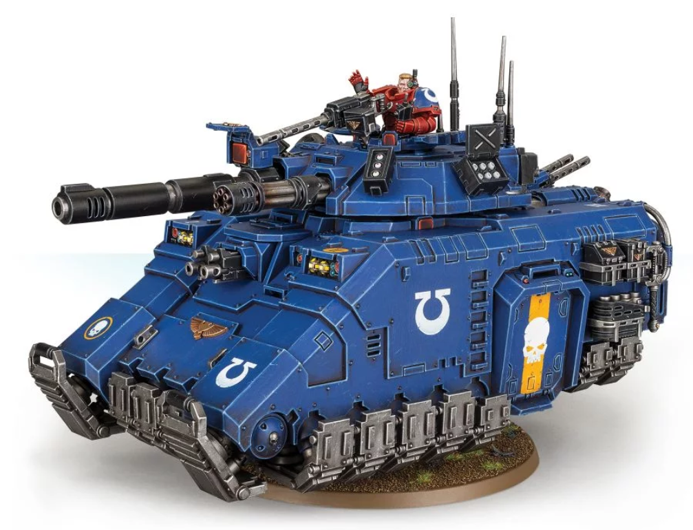 WH40K: S/MARINES PRIMARIS REPULSOR EXECUTIONER
