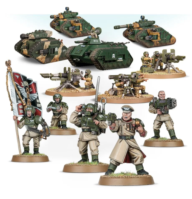 WH40K: ASTRA MILITARUM SPEARHEAD DETACHMENT