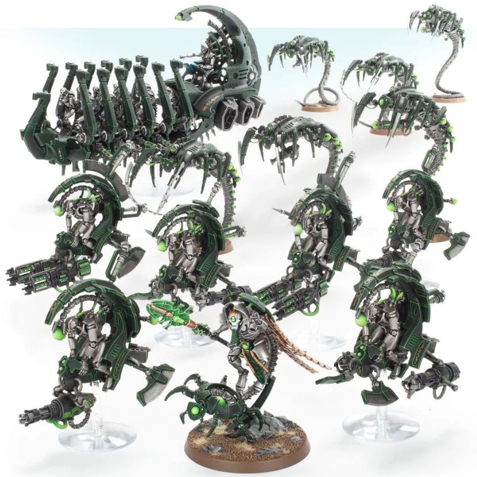 WH40K: NECRONS OUTRIDER DETACHMENT