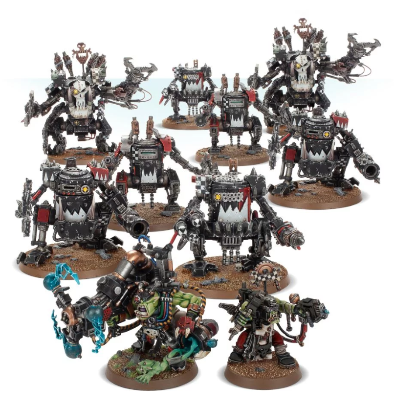 WH40K: ORKS SPEARHEAD DETACHMENT
