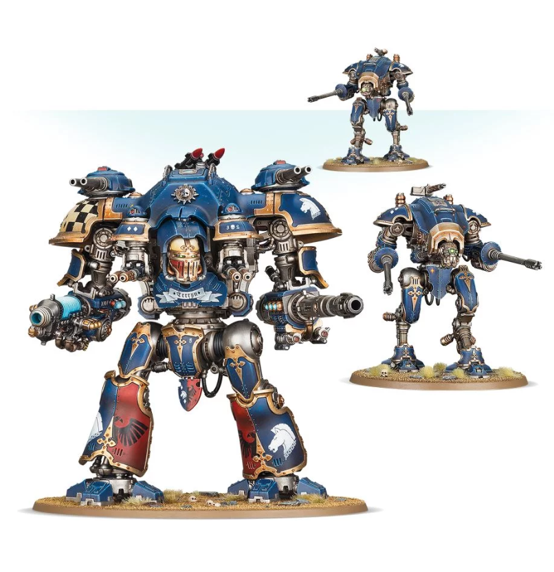 WH40K: IMPERIAL KNIGHTS SUPER HEAVY DETACHMENT