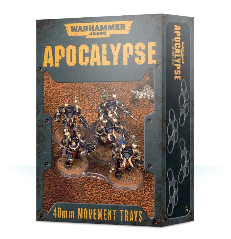 Warhammer 40K: Apocalypse Movement Trays (40mm)