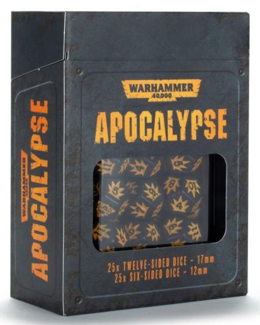 Warhammer 40K:  Apocalypse Dice (50)