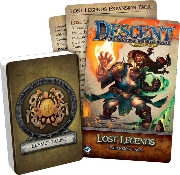 Descent: Lost Legends Expansion Pack