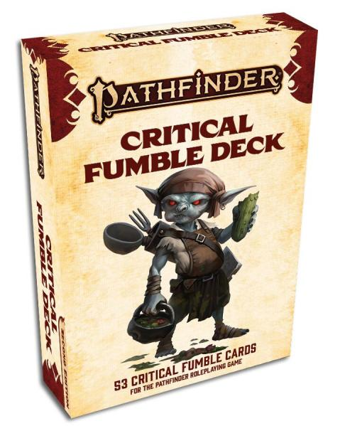 Pathfinder (P2): Critical Fumble Deck (P2) (Accessory)