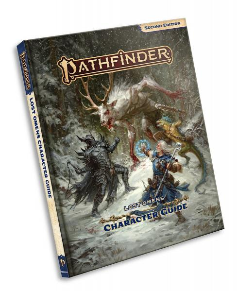 Pathfinder (P2): Pathfinder Lost Omens Character Guide (HC)
