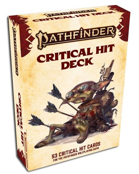 Pathfinder (P2): Critical Hit Deck (P2) (Accessory)