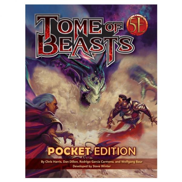 Dungeons & Dragons RPG: Tome Of Beasts Pocket Edition