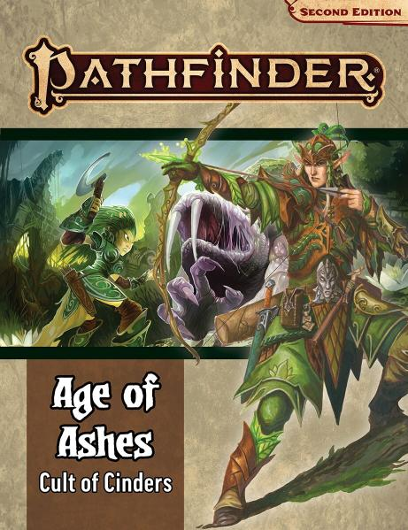 Pathfinder (P2): Pathfinder Adventure Path - Cult of Cinders (Age of Ashes 2 of 6)