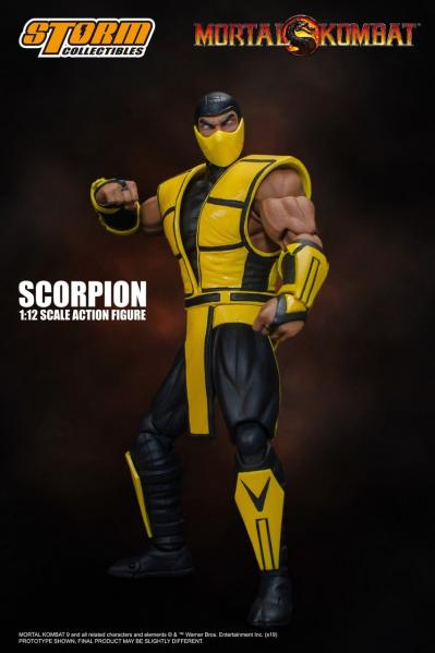 Bandai Hobby: Storm Collectibles - Scorpion ''Mortal Kombat 3''  (1/12 scale)