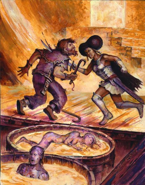 Dungeon Crawl Classics RPG: (Adventure) Lankhmar  #9 - Grave Matters