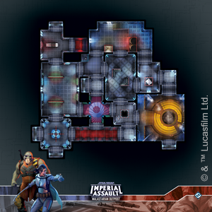 Star Wars Imperial Assault: Skirmish Map - Malastarian Outpost