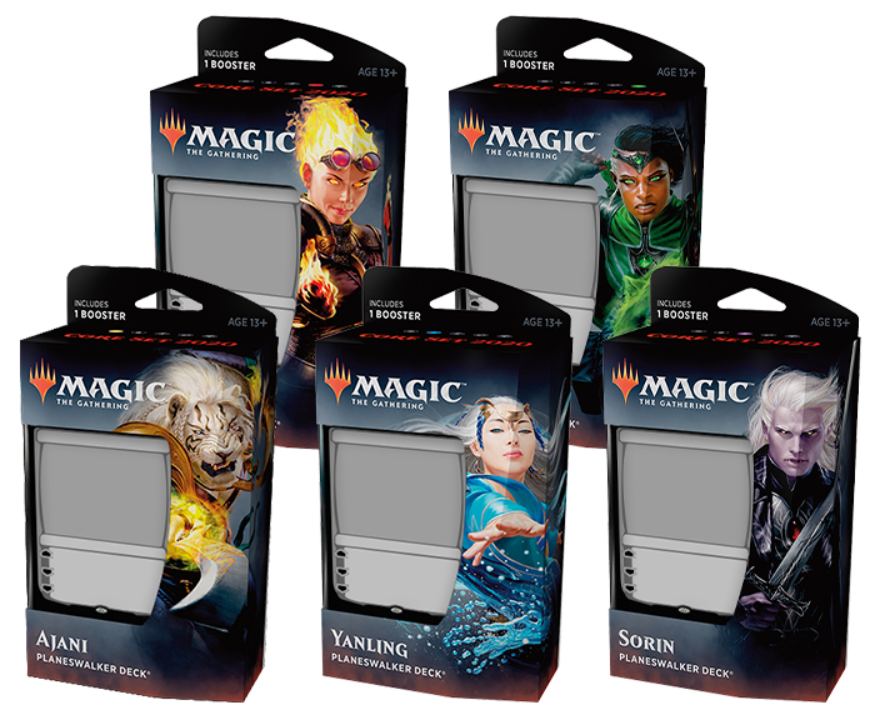 Magic the Gathering: Core Set 2020 Planeswalker Deck (1)