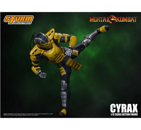 Bandai Hobby: Storm Collectibles - Cyrax ''Mortal Kombat''  (1/12 scale)
