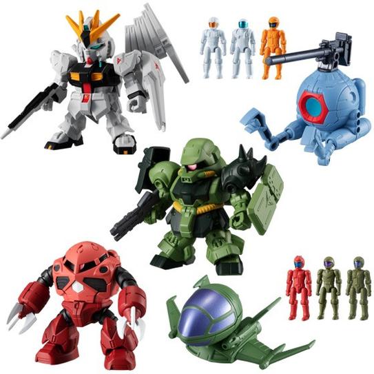 Bandai Hobby: Mobile Suit Gundam Micro Wars 3 ''Mobile Suit Gundam'' (Box of 10), Bandai Micro Wars