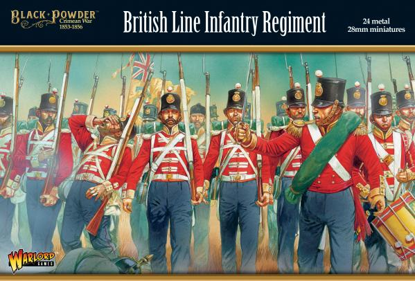 Black Powder: Crimean War - British Line Infantry